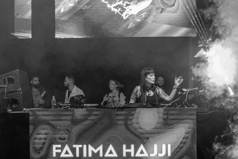 Fatima Hajji performing at Dava Festival
