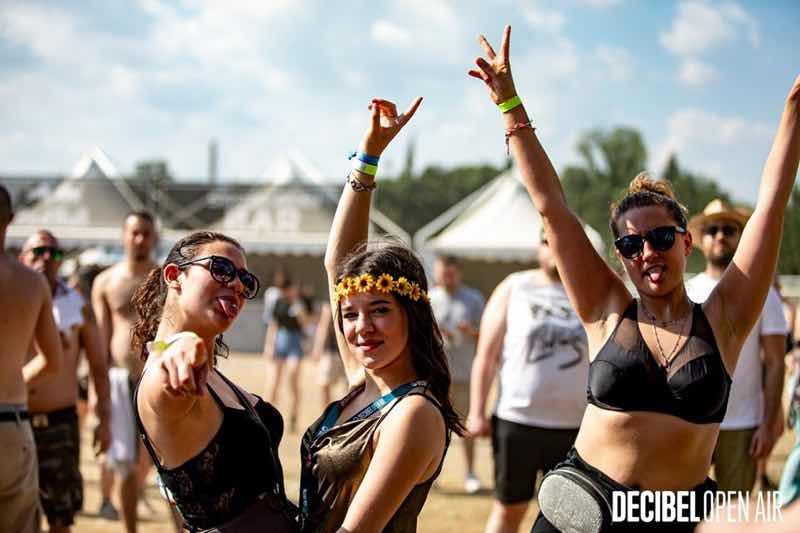 Fans enjoying at Decibel Open Air Festival