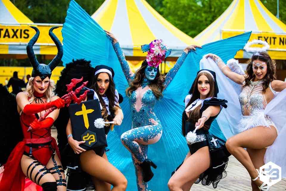 Angels and demons at Decibel Outdoor Festival
