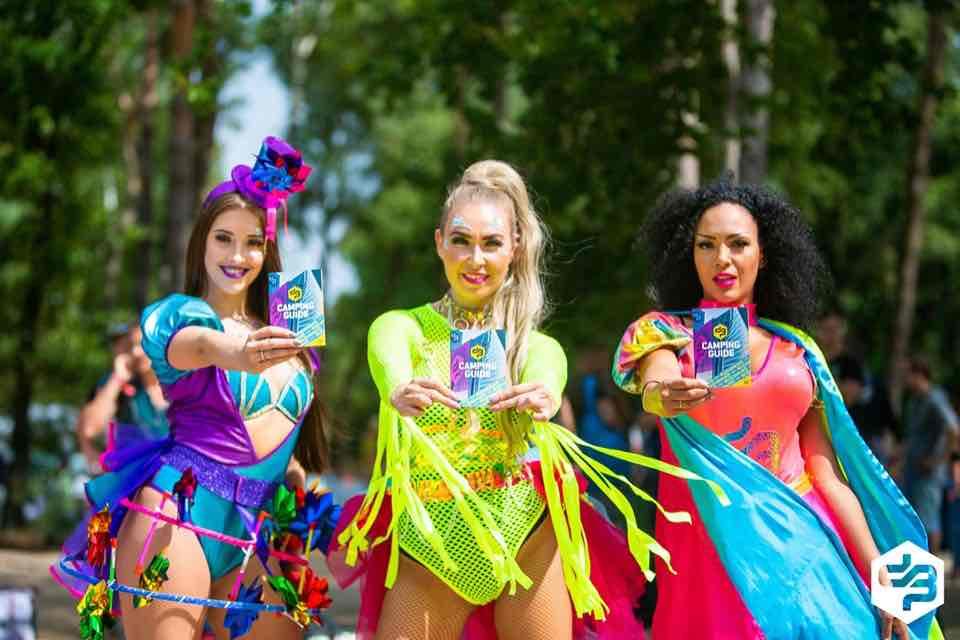 Beauties at Decibel Outdoor Festival