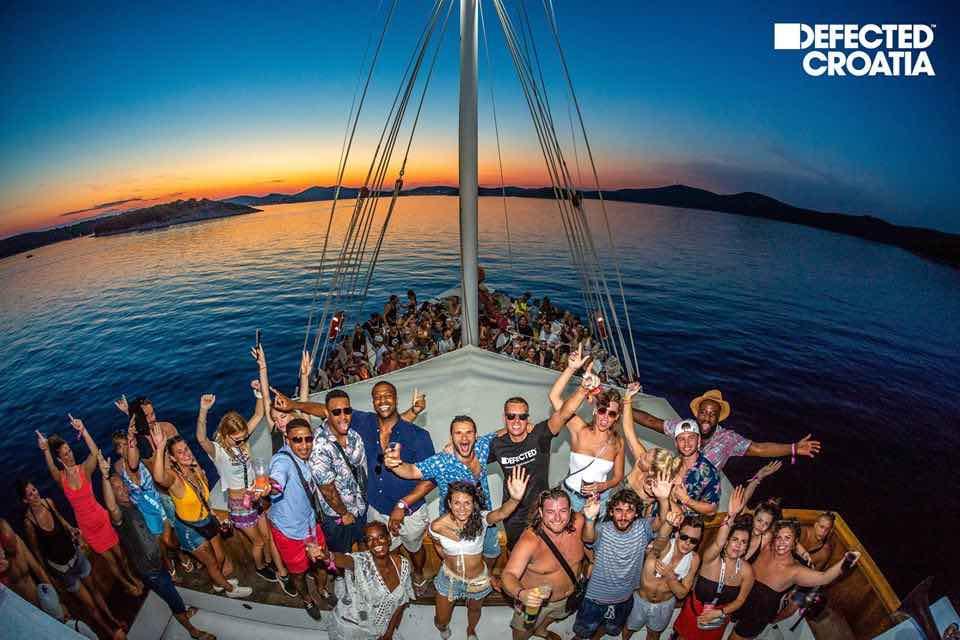 Boat Party at Defected Croatia Festival