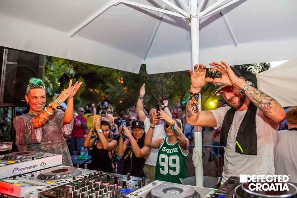 Dj love at Defected Croatia Festival