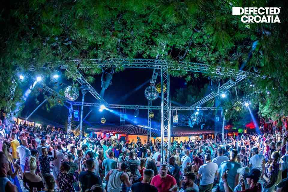Lights stage at Defected Croatia Festival