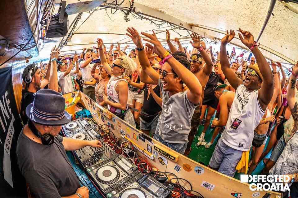 Party stage at Defected Croatia Festival