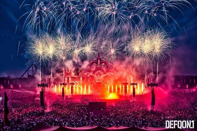 Celebrations at Defqon 1 Weekend Festival