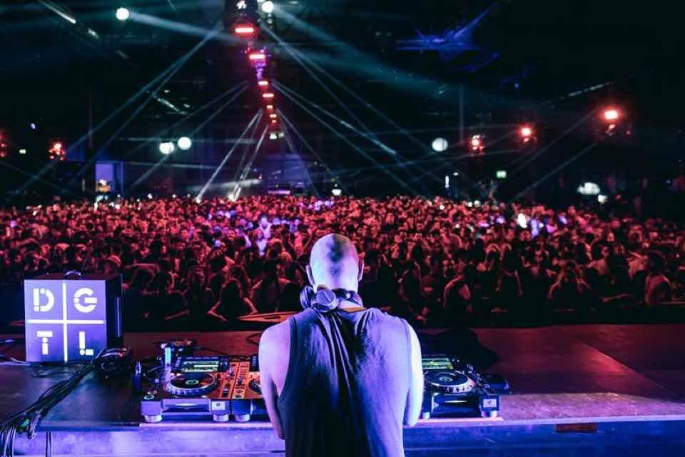 Performing at DGTL Madrid Festival