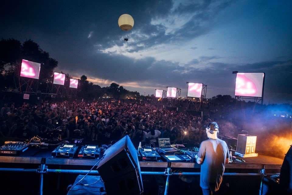 Amazing stage view at DGTL Tel Aviv Festival