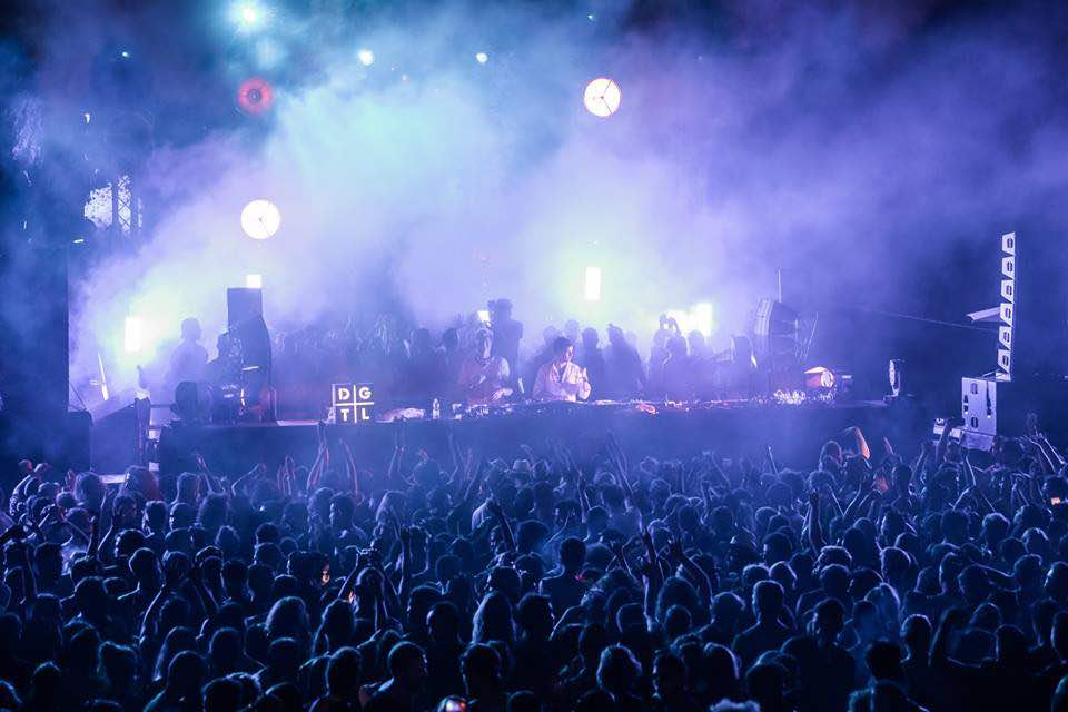 Dancing at DGTL Tel Aviv Festival