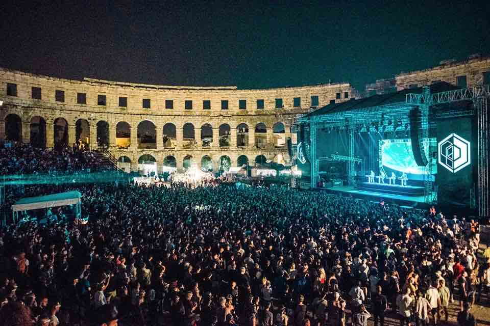 Opening Night at Dimensions Festival