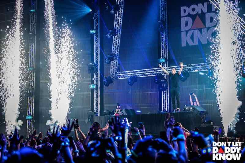 Martin Garrix on top at DLDK Don't Let Daddy know Festival