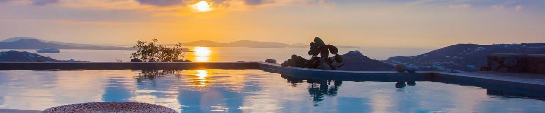 Blue Sea Yellow Sunset
