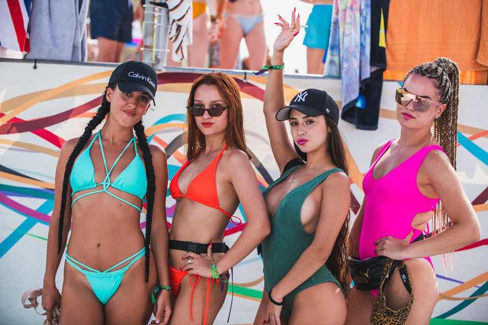 Beauties at Dreambeach Villaricos Festival
