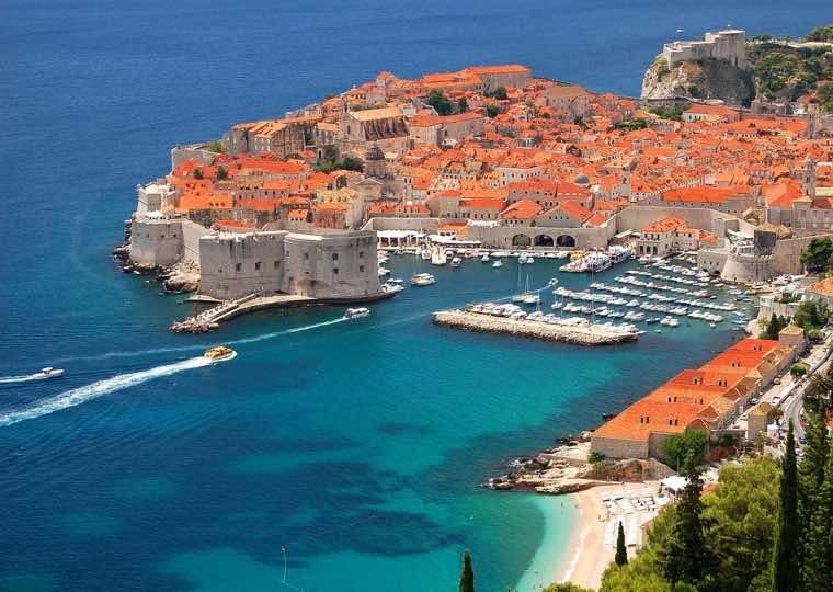 Old City Marina in Dubrovnik