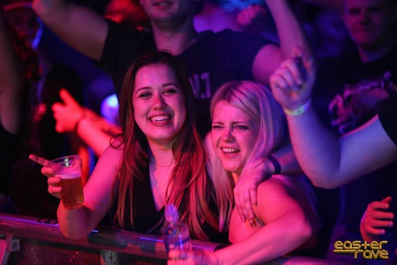 Fans enjoying at Easter Rave Festival
