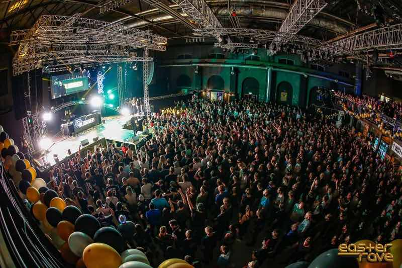 Hall view at Easter Rave Festival