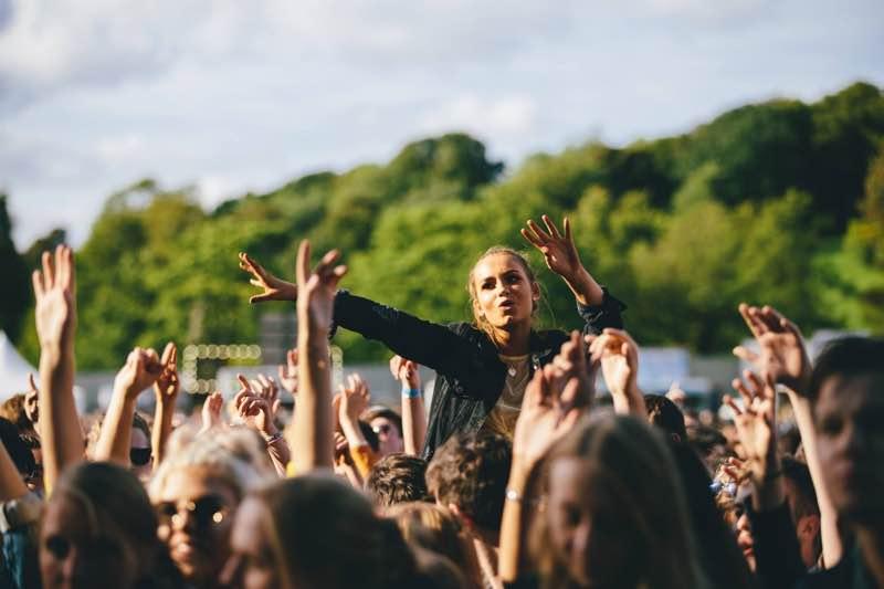 Fans enjoying at Edinburgh Summer Sessions