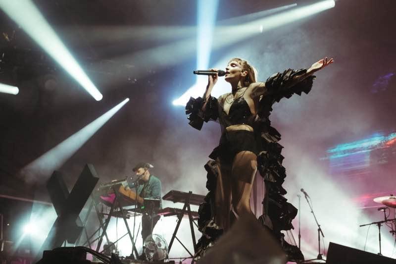 Performing at Edinburgh Summer Sessions