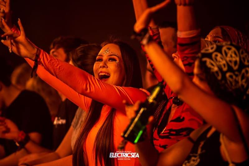 Fans excited at Electric Sea festival