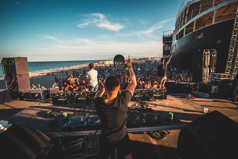 Performing at Electrobeach Music Festival