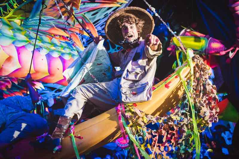 Showman at elrow Nowmads Midlands Festival