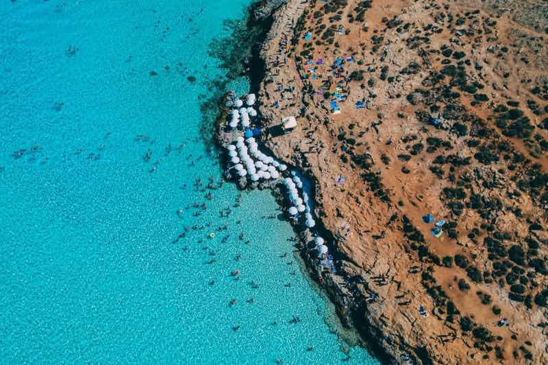 Malta Blue lagoon at Escape 2 the island festival Malta