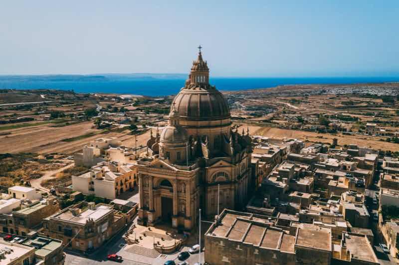 Church of st john teh baptist at Escape 2 the island festival Malta