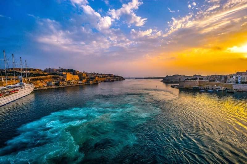 Valetta Harbour at Escape 2 the island festival Malta