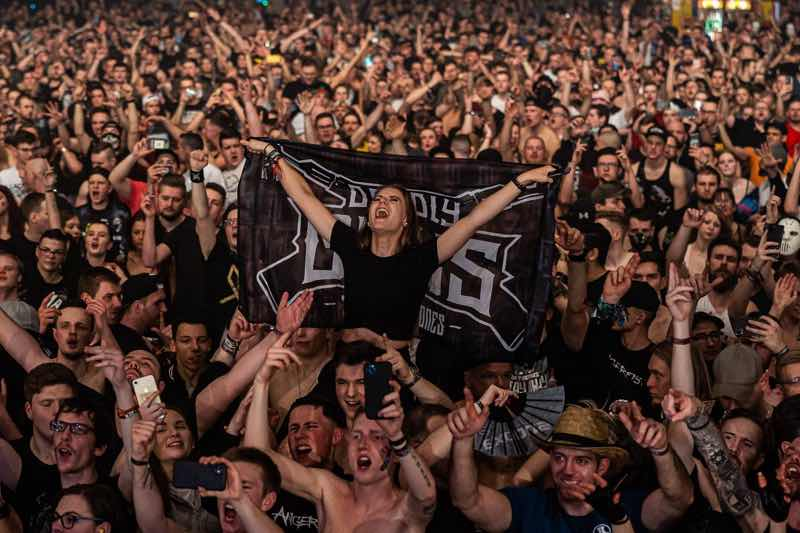 Fans excited at Exodus Festival