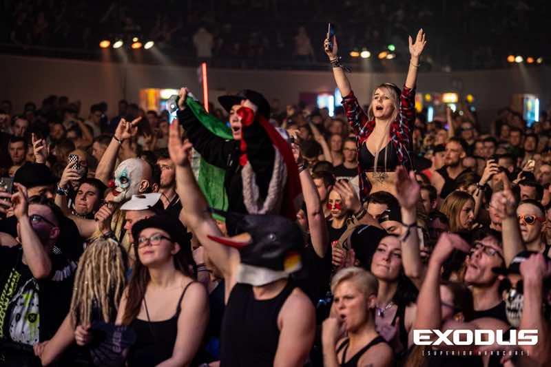 Fans having fun at Exodus Festival