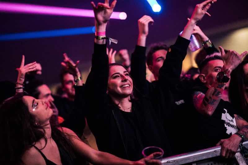 Fans enjoying at Fcknye Festival Brussels