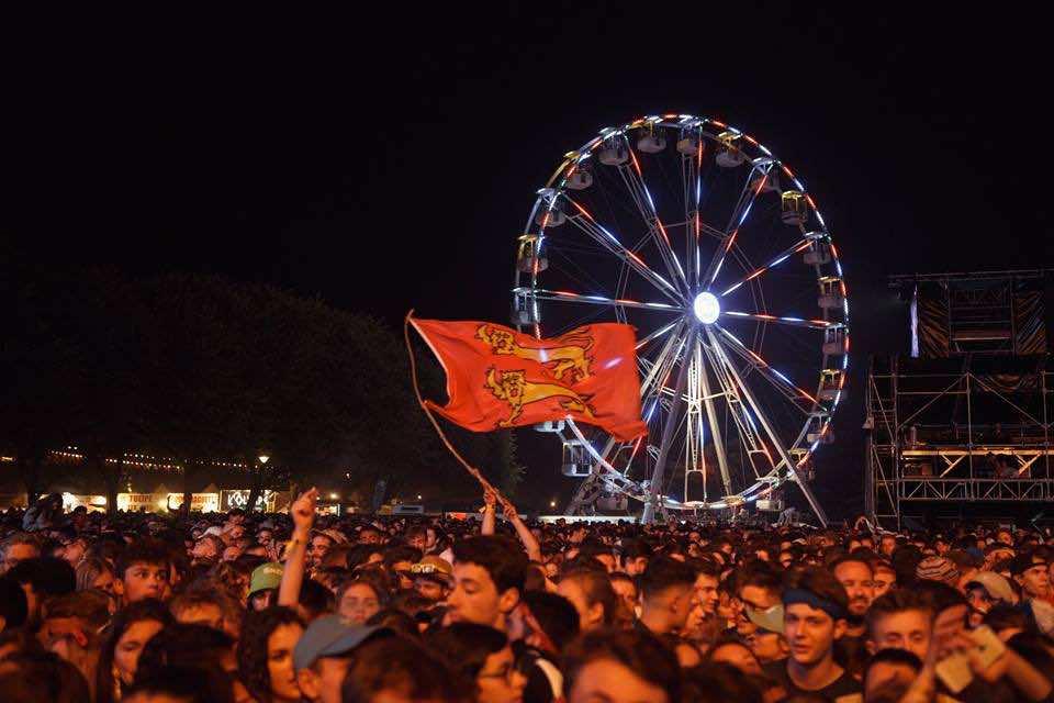 Fans at Festival Beauregard