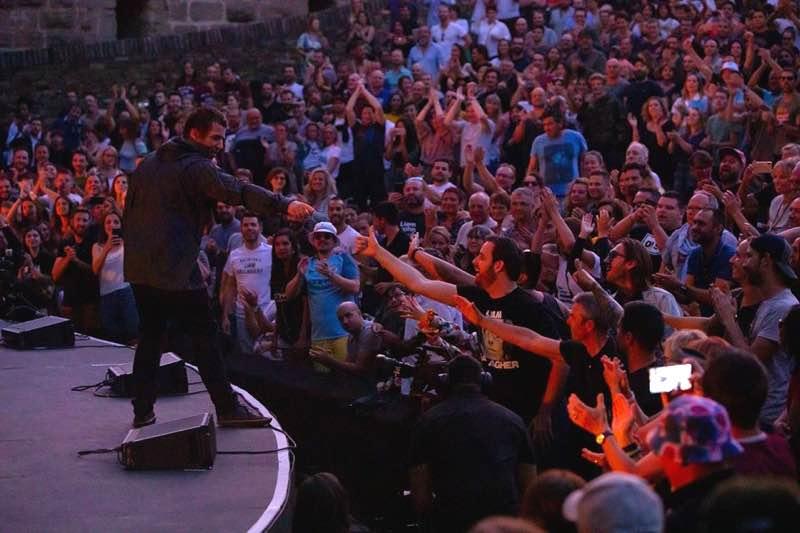 Fans excited at Festival de Carcassonne