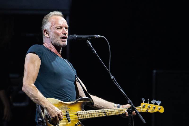 Sting performing at Festival de Carcassonne