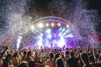 Party stage at FIB Festival Internacional de Benicassim