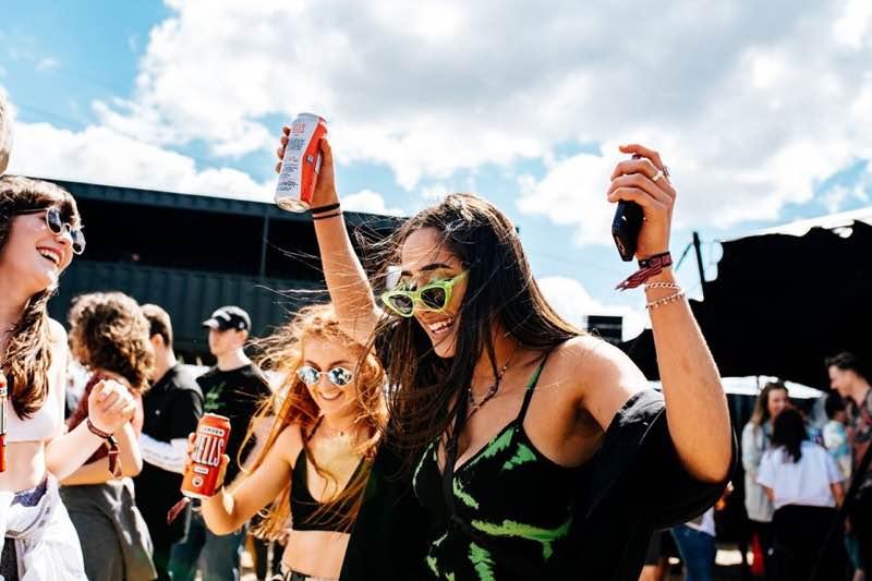 Fans enjoying at Field Day London Festival