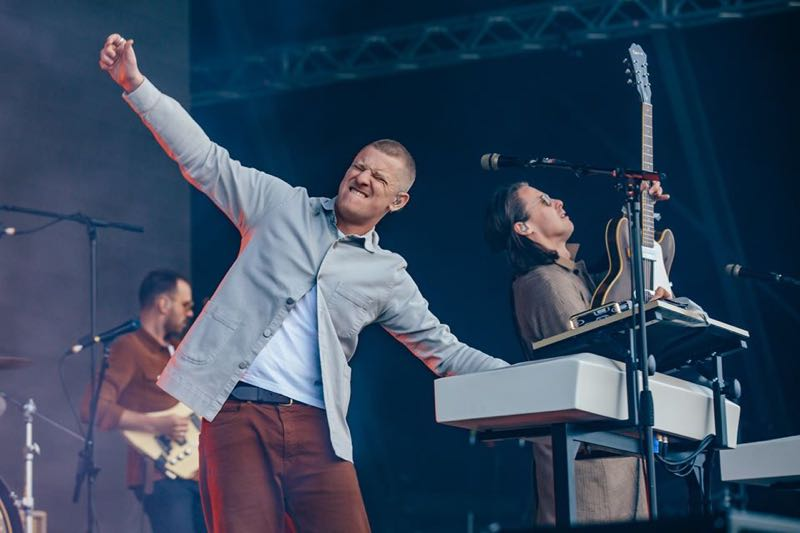 Performing at Field Day London Festival