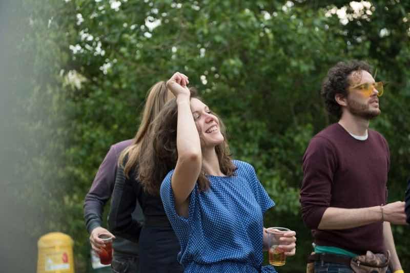 Fans enjoying at Flash Festival Tuscany