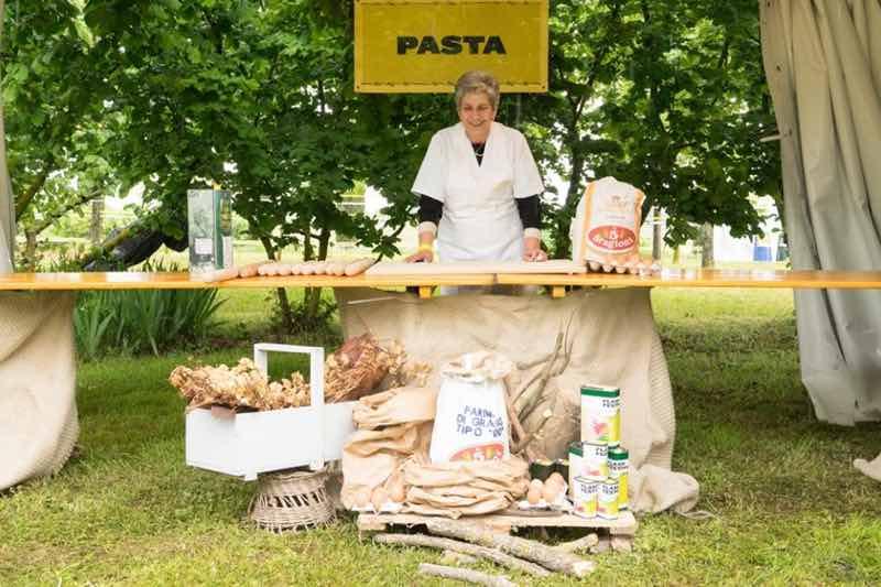 Pasta shop at Flash Festival Tuscany