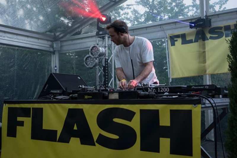 Performing at Flash Festival Tuscany