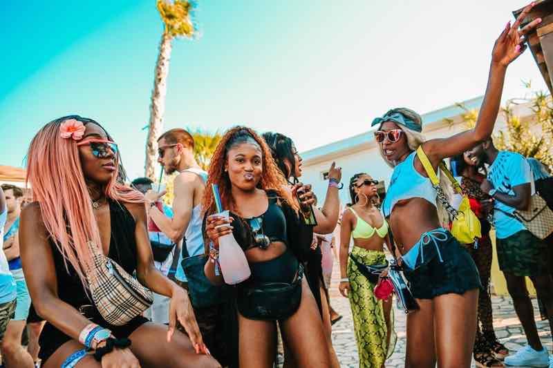 Fans enjoying at Fresh Island Festival