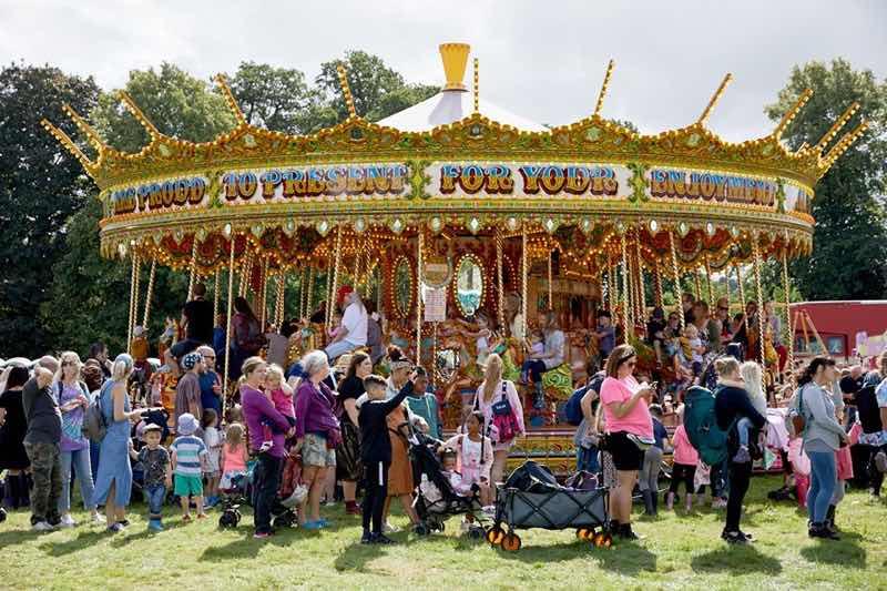 Playground at Gloworm Festival