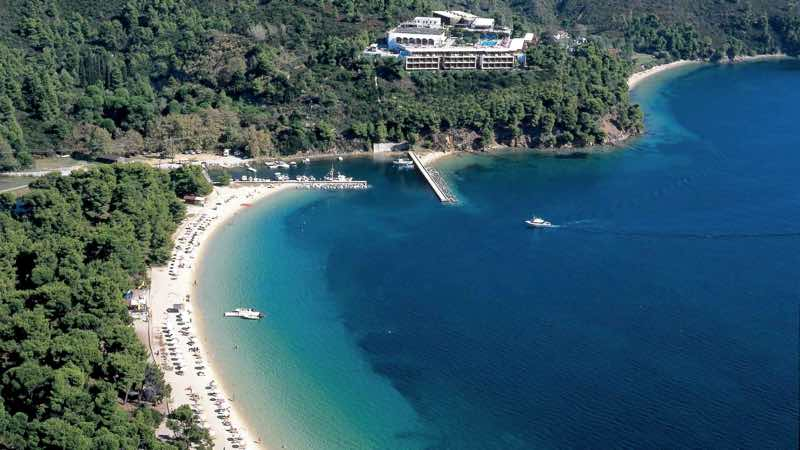 skiathos island koukounaries amazing beach destinations
