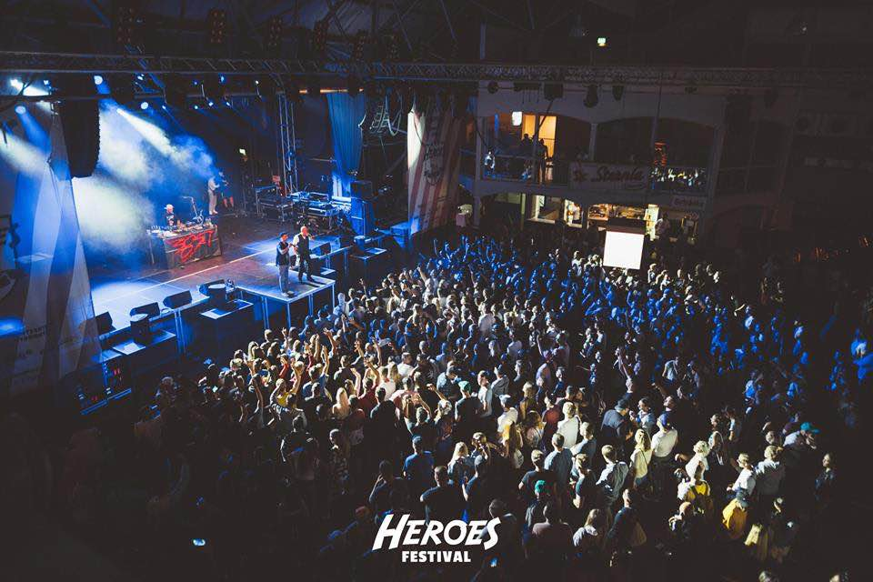 Crowd view at Heroes Festival