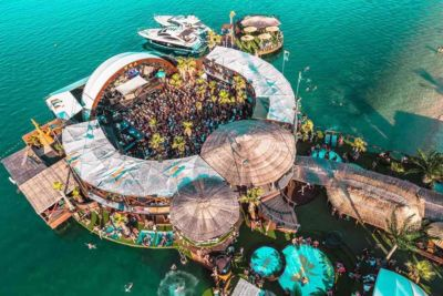 Noa club amazing stage at Hideout Festival