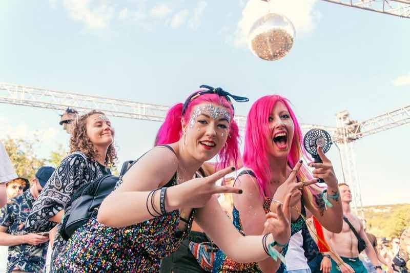 Fans enjoying at Hospitality on the Beach Festival