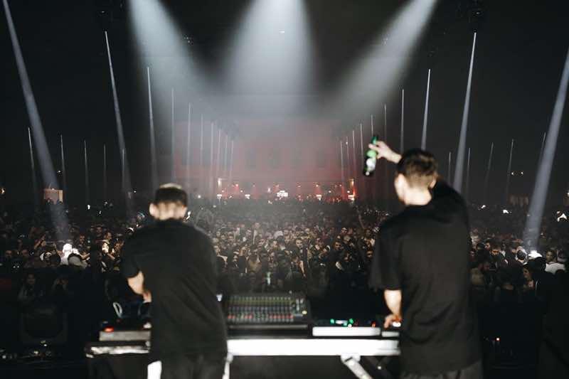 Fjaak perfrorming at I love techno europe festival
