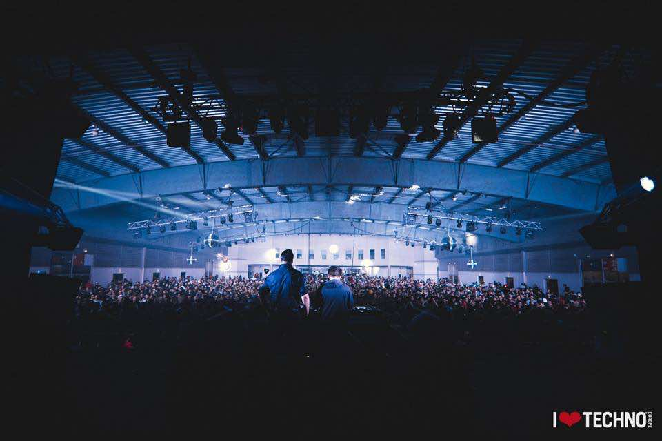 Stage view at I Love Techno Europe