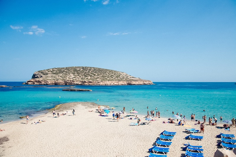 Cala Conta Beach in Ibiza Travel Guide