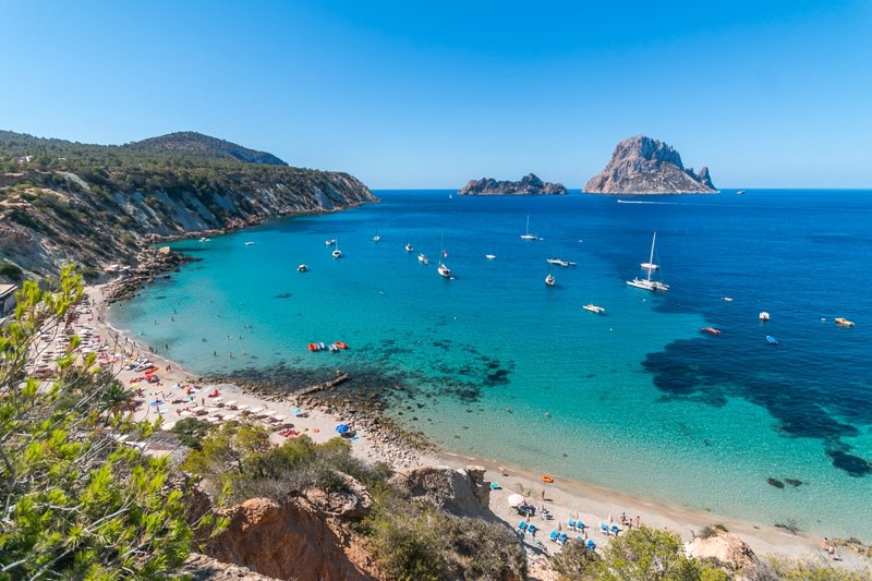 Cala d'Hort Beach in Ibiza Travel Guide