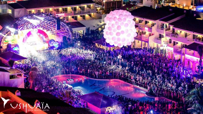 Best clubbing destinations Ushuaia Club in Ibiza
